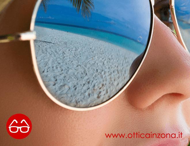 Occhiali da sole polarizzati o a specchio?